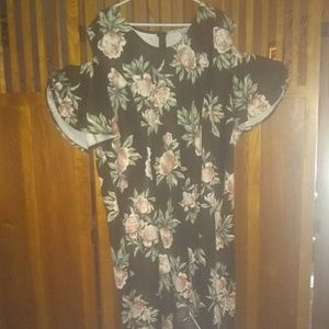 S.W.A.K. Cold shoulder dress NWT